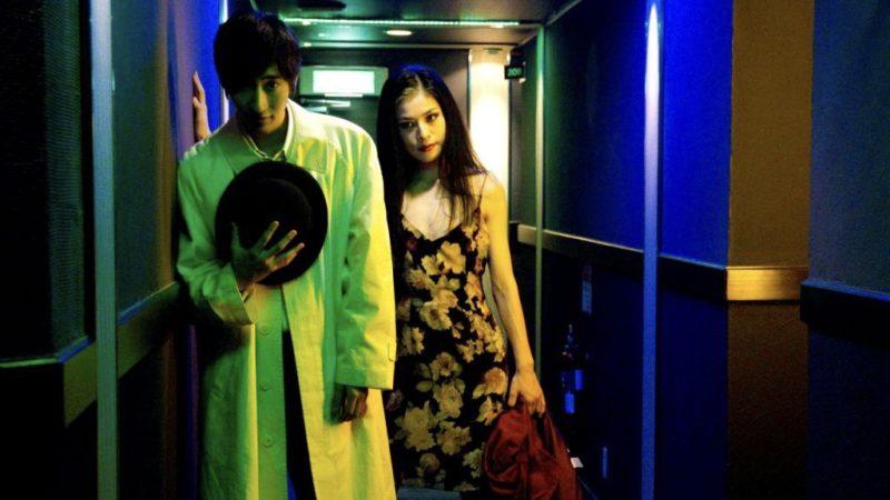 映画『恋の罪』尾沢美津子役の冨樫真とカオル役の小林竜樹