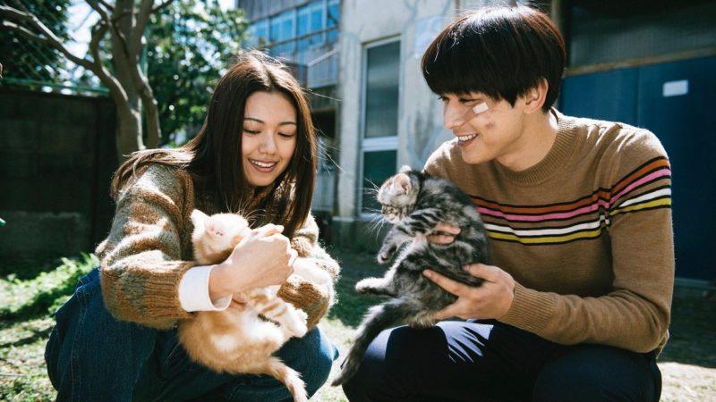 映画『リバーズ・エッジ』ハルナ役の二階堂ふみと山田役の吉沢亮