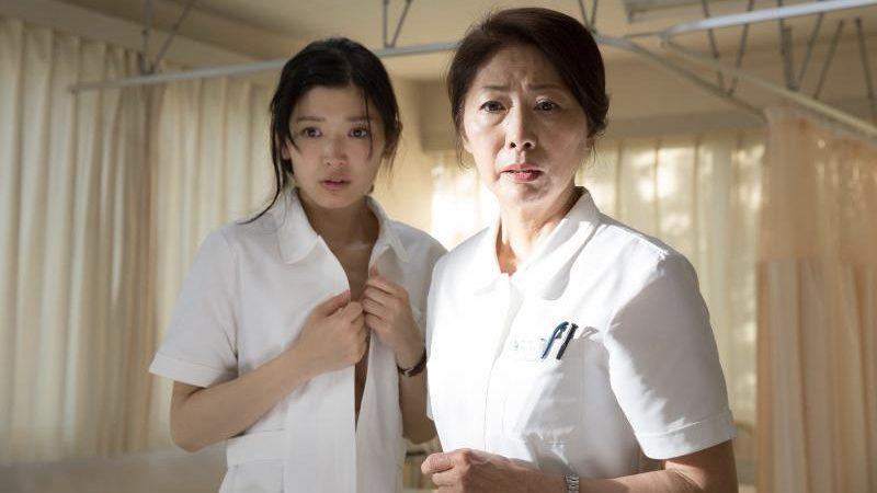映画『ジムノペディに乱れる』板尾創路と看護師の濡れ場