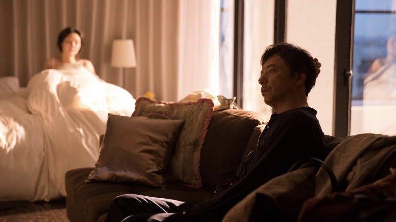 映画『ジムノペディに乱れる』古谷慎二役の板尾創路と結花役の芦那すみれ