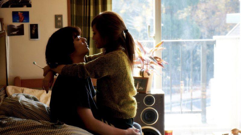 映画『さよなら歌舞伎町』高橋徹役の染谷将太と飯島沙耶役の前田敦子