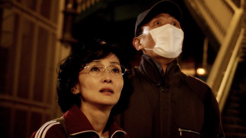映画『さよなら歌舞伎町』鈴木里美役の南果歩