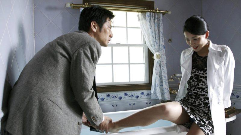 映画『不倫純愛』嘉門洋子と津田寛治の濡れ場