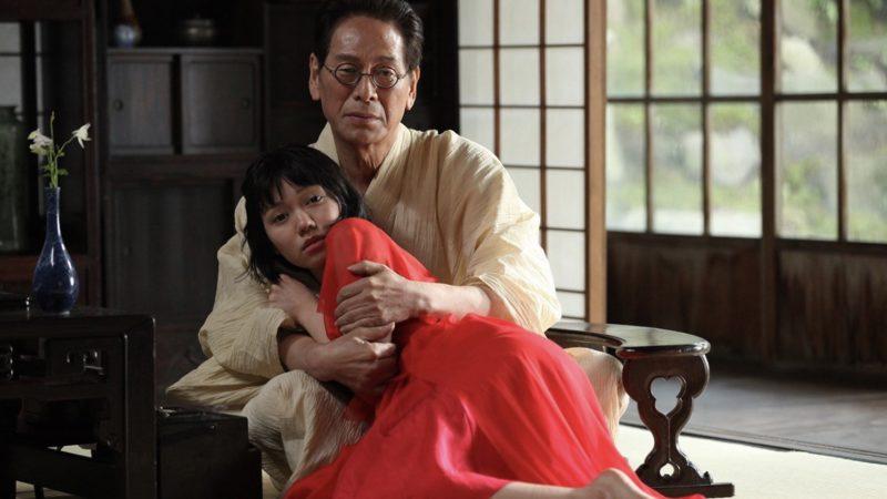 映画『蜜のあわれ』赤井赤子役の二階堂ふみと老作家役の大杉漣