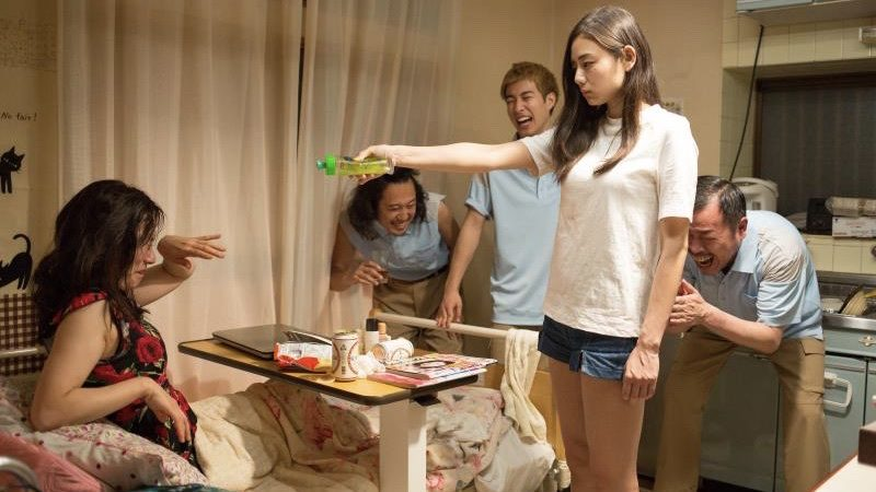 映画『富美子の足』富美子役の片山萌美