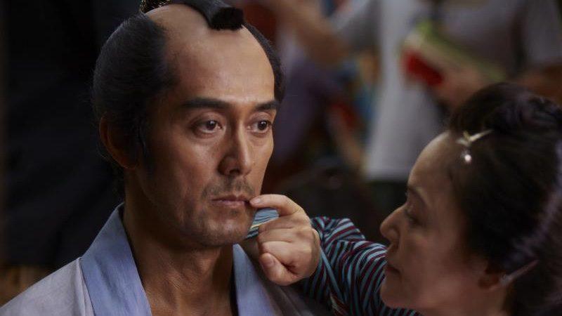 映画『のみとり侍』小林寛之進役の阿部寛