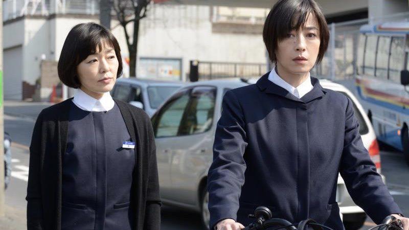 映画『紙の月』梅澤梨花役の宮沢りえと隅より子役の小林聡美