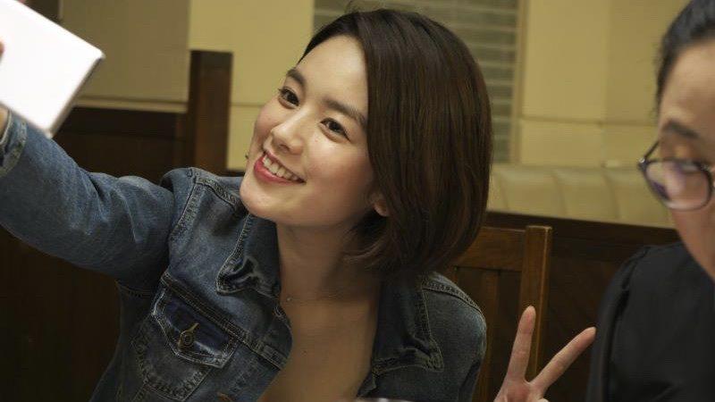 映画『犬猿』幾野真子役の筧美和子