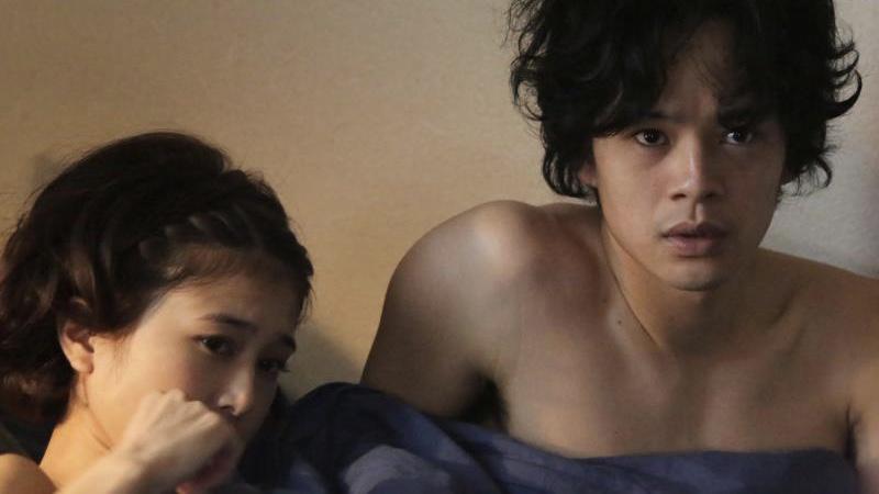 映画『だれかの木琴』山田海斗役の池松壮亮と真藤唯役の佐津川愛美