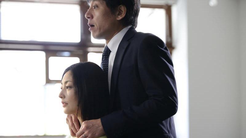 映画『だれかの木琴』親海小夜子役の常盤貴子と光太郎役の勝村政信