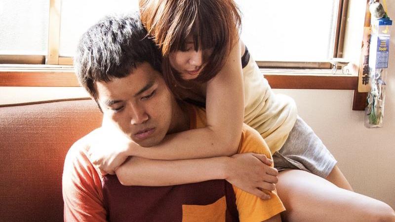 映画『ローリング』貫一役の三浦貴大とみはり役の柳英里紗