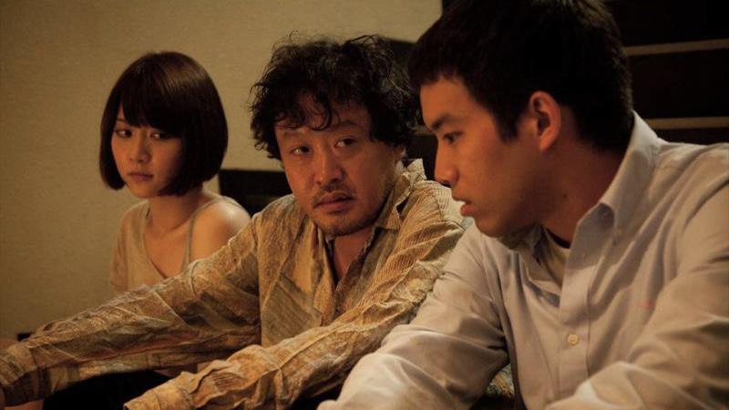 映画『ローリング』三浦貴大と柳英里紗と川瀬陽太