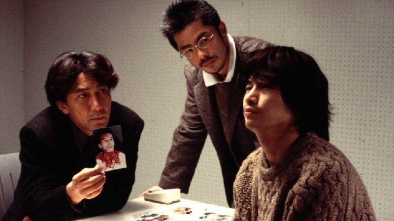 映画『CURE』萩原聖人と役所広司とうじきつよし