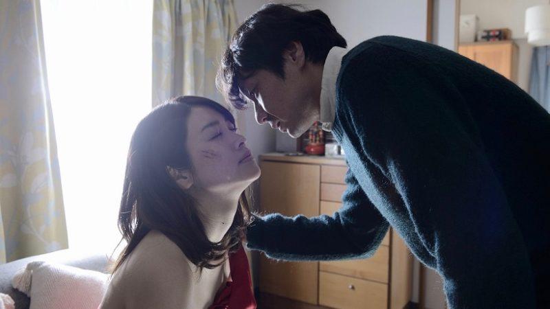 映画『殺人鬼を飼う女』キョウコ役の飛鳥凛と田島冬樹役の水橋研二