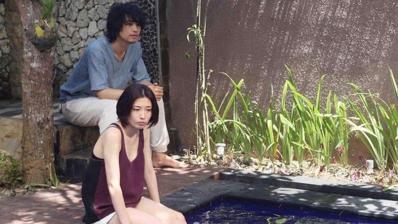 映画『欲動』ユリ役の三津谷葉子と千紘役の斎藤工