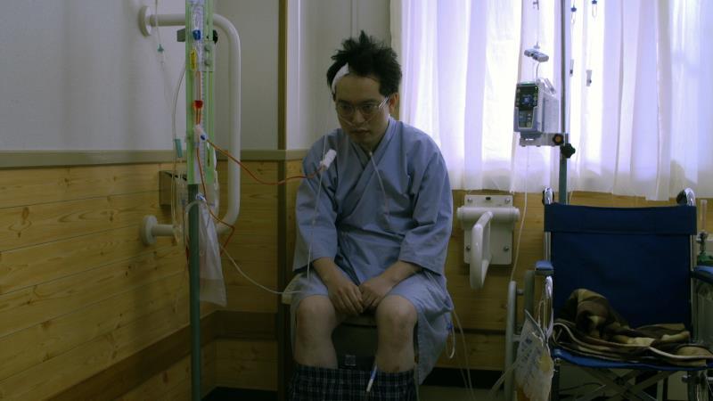 映画『くも漫。』中川学役の脳みそ夫