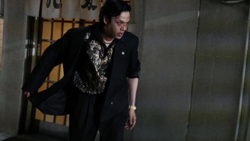 映画『孤狼の血』永川恭二役の中村倫也