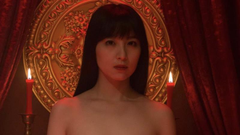 映画『ご主人様と呼ばせてください』乳首出しヌードの百合沙