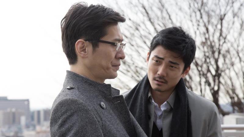 映画『ご主人様と呼ばせてください』目黒役の毎熊克哉と瀬尾役の三浦誠己
