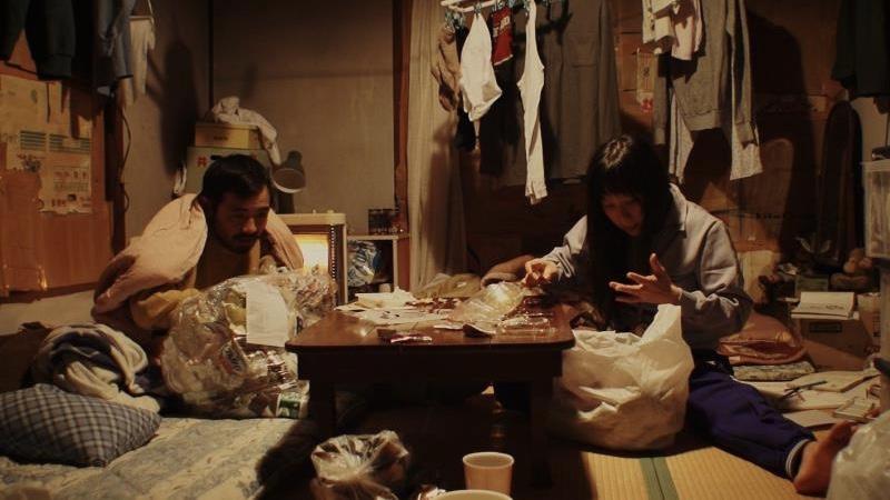 映画『岬の兄妹』道原良夫役の松浦祐也と道原真理子役の和田光沙