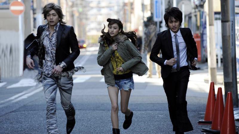 映画『東京難民』中村蒼と山本美月と青柳翔