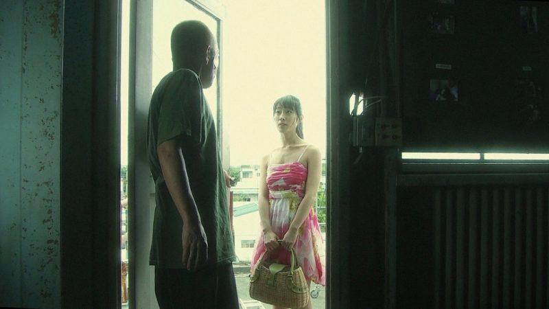 映画『ヌードの夜 / 愛は惜しみなく奪う』紅次郎役の竹中直人とれん役の佐藤寛子