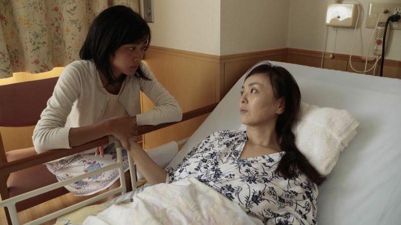 映画『2つ目の窓』杏子役の吉永淳とイサ役の松田美由紀
