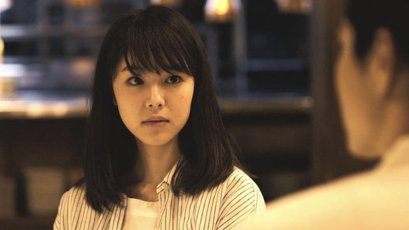映画『寝ても覚めても』泉谷朝子役の唐田えりか