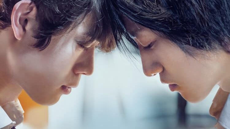 映画『his』井川迅役の宮沢氷魚と日比野渚役の藤原季節