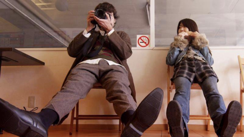 映画『FLARE-フレア-』三井フレア役の福田麻由子とジャン・オゾン役のヴァランタン・ボノム