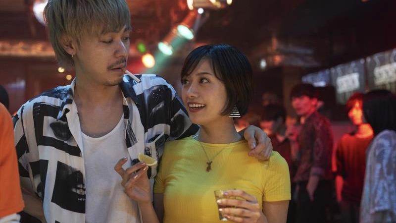 映画『チワワちゃん』チワワ役の吉田志織とヨシダ役の成田凌