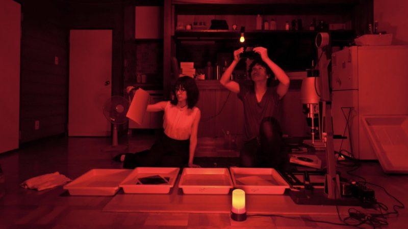 映画『スティルライフオブメモリーズ』鈴木春馬役の安藤政信と怜役の永夏⼦