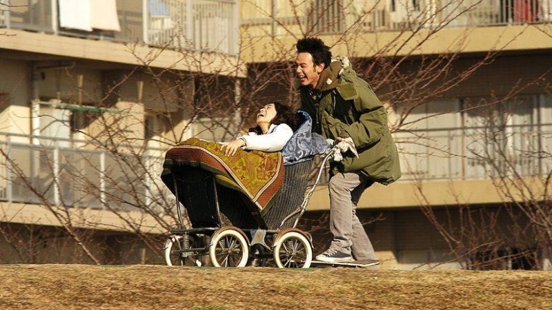 映画『ジョゼと虎と魚たち』恒夫役の妻夫木聡とジョゼ役の池脇千鶴