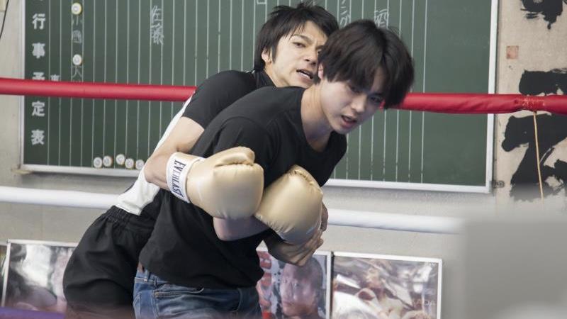 映画『あゝ、荒野』沢村新次役の菅田将暉と山本裕二役の山田裕貴