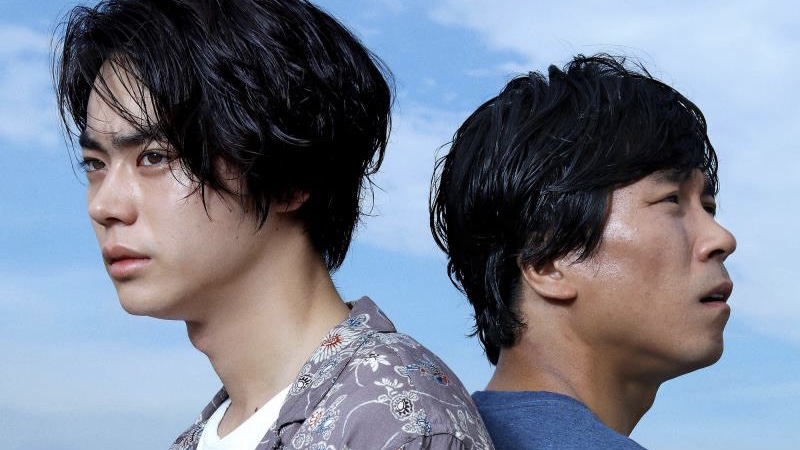 映画『あゝ、荒野』沢村新次役の菅田将暉と二木健二役のヤン・イクチュン