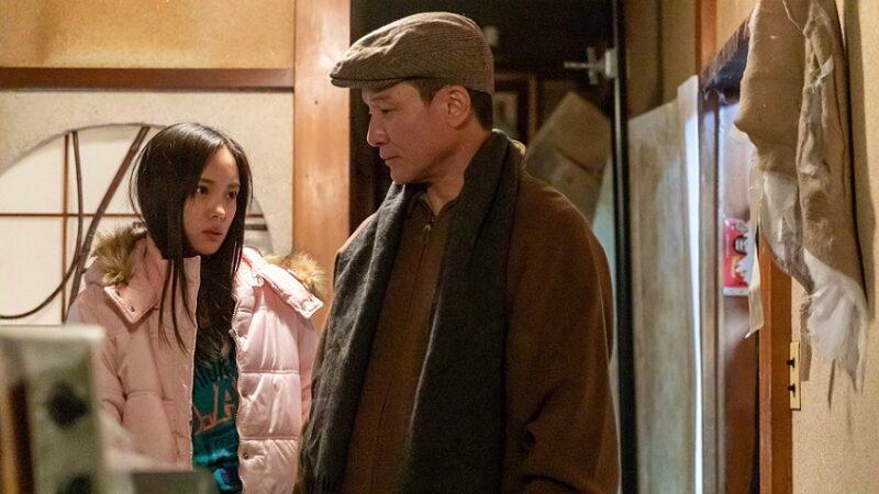 映画『裸の天使 赤い部屋』松永役の木下ほうかと文子役の中山来未